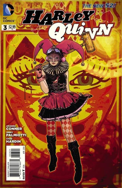 Harley Quinn #3 Steampunk Variant