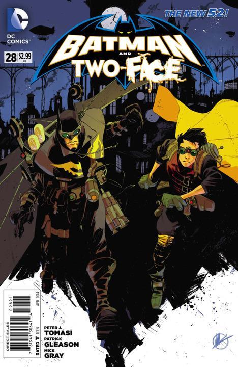 Batman and Robin #28 Steampunk Variant