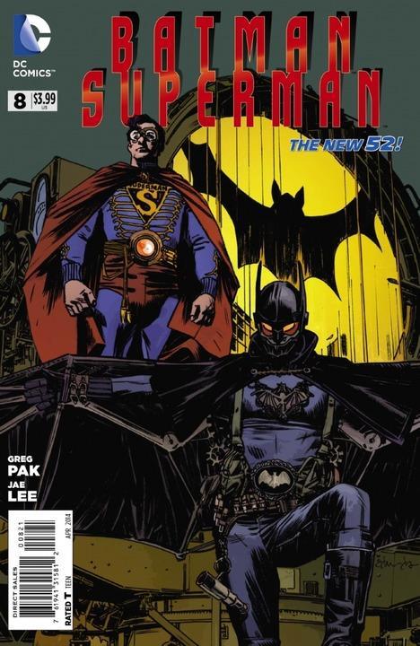 Batman / Superman #8 Steampunk Variant
