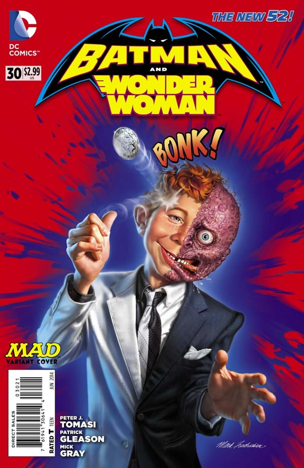 Batman and Wonder Woman #30 MAD Variant