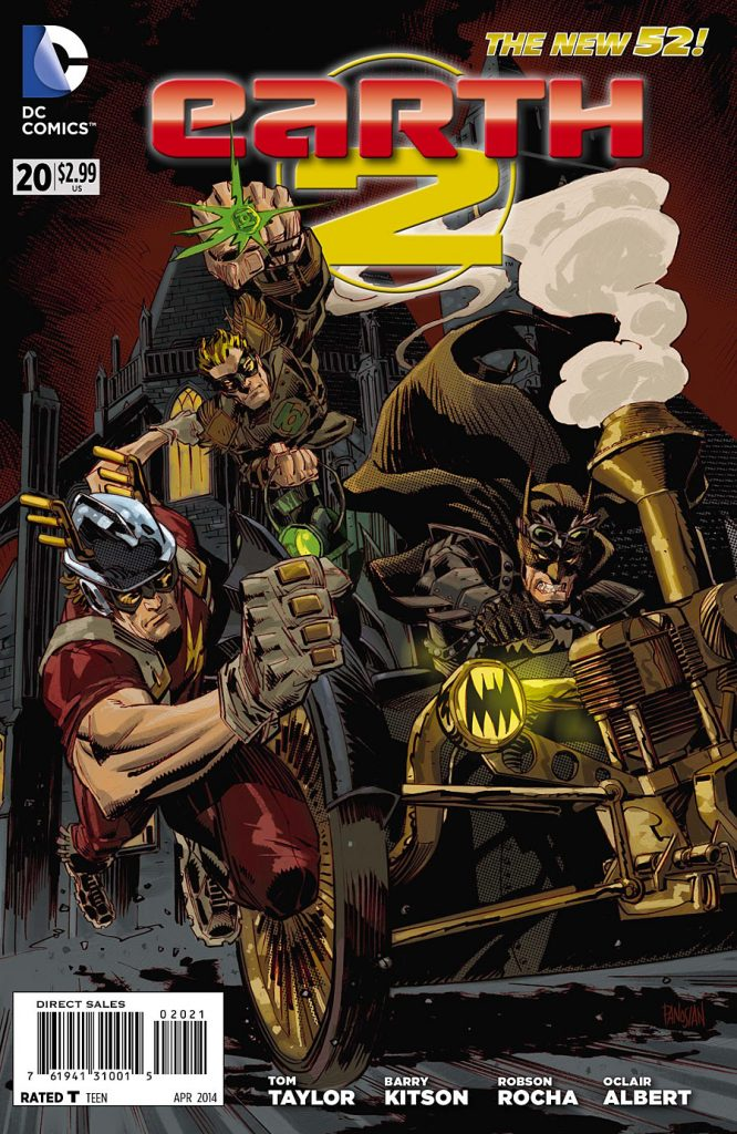 Earth 2 #20 Steampunk Variant