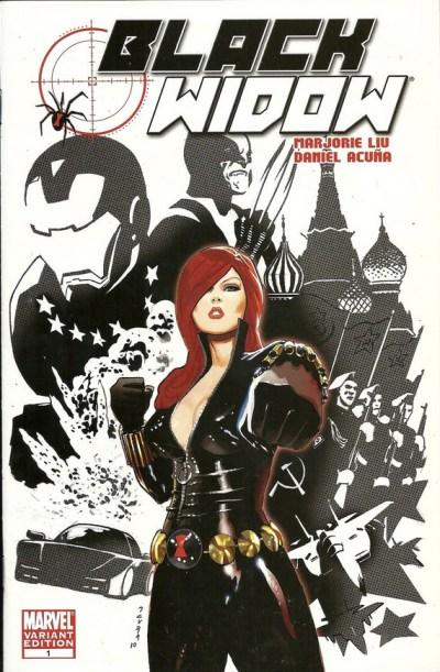 Black Widow #1 Partial Sketch Variant