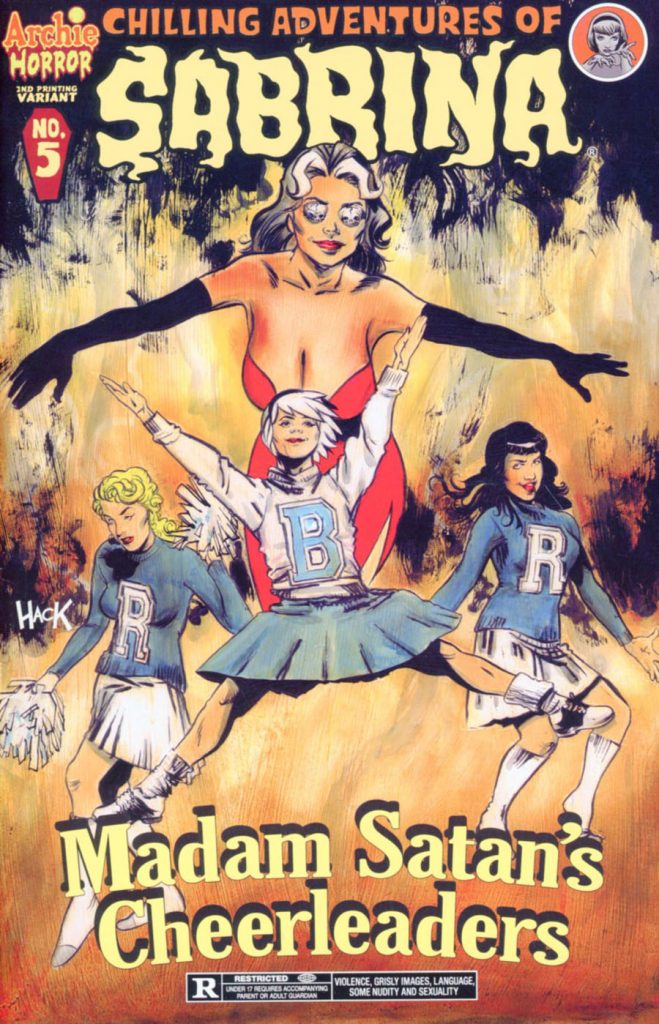Chilling Adventures of Sabrina #5 2nd Printing