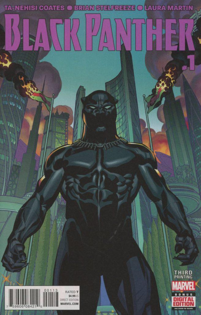 Black Panther #1 3rd Printing