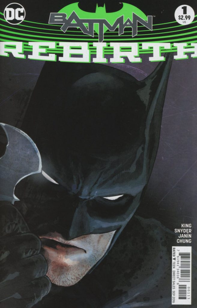 Batman: Rebirth 3rd Printing