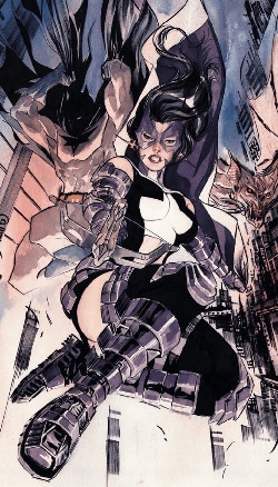 Huntress_Helena_Bertinelli_Dustin_Nguyen's_art