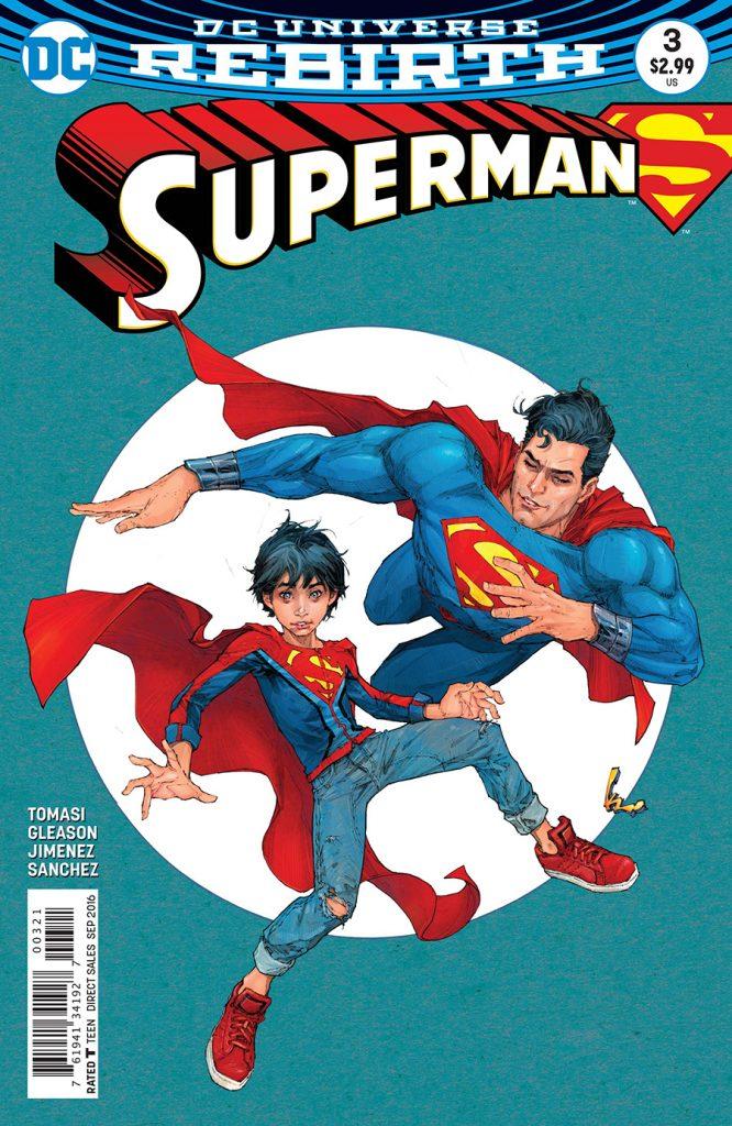 Superman #3 Kenneth Rocafort Variant