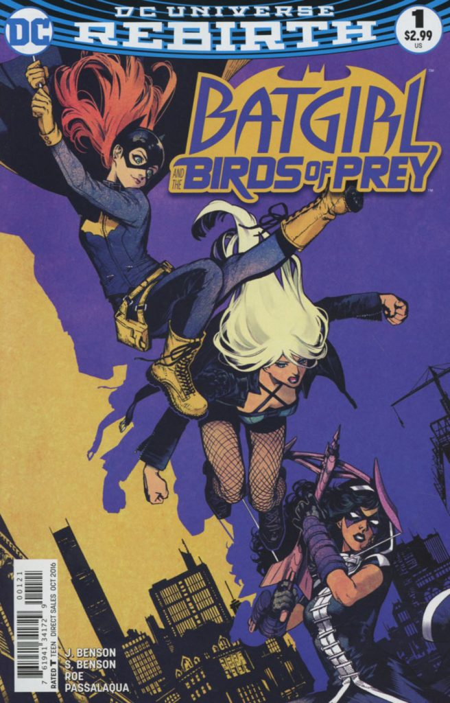Batgirl and the Birds of Prey #1 Kamome Shirahama Variant