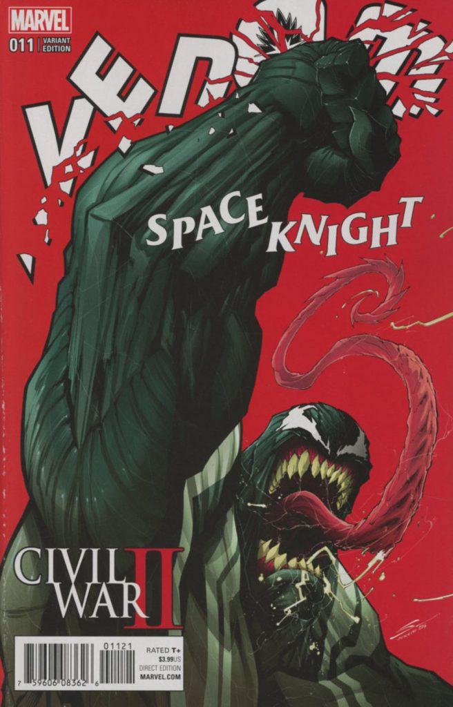 Venom Space Knight #11 Gerardo Sandoval Variant