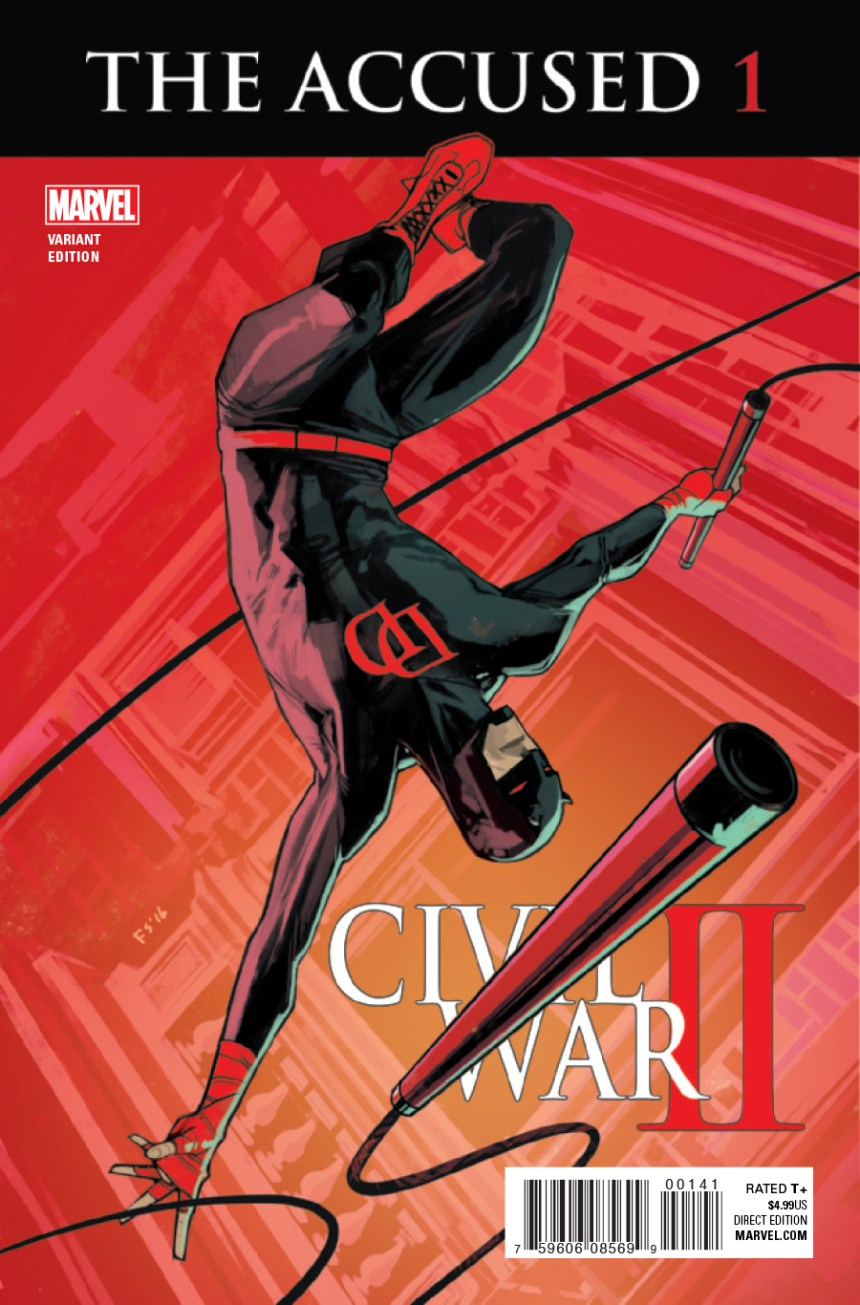 Civil War II: The Accused #1 Fiona Staples Variant
