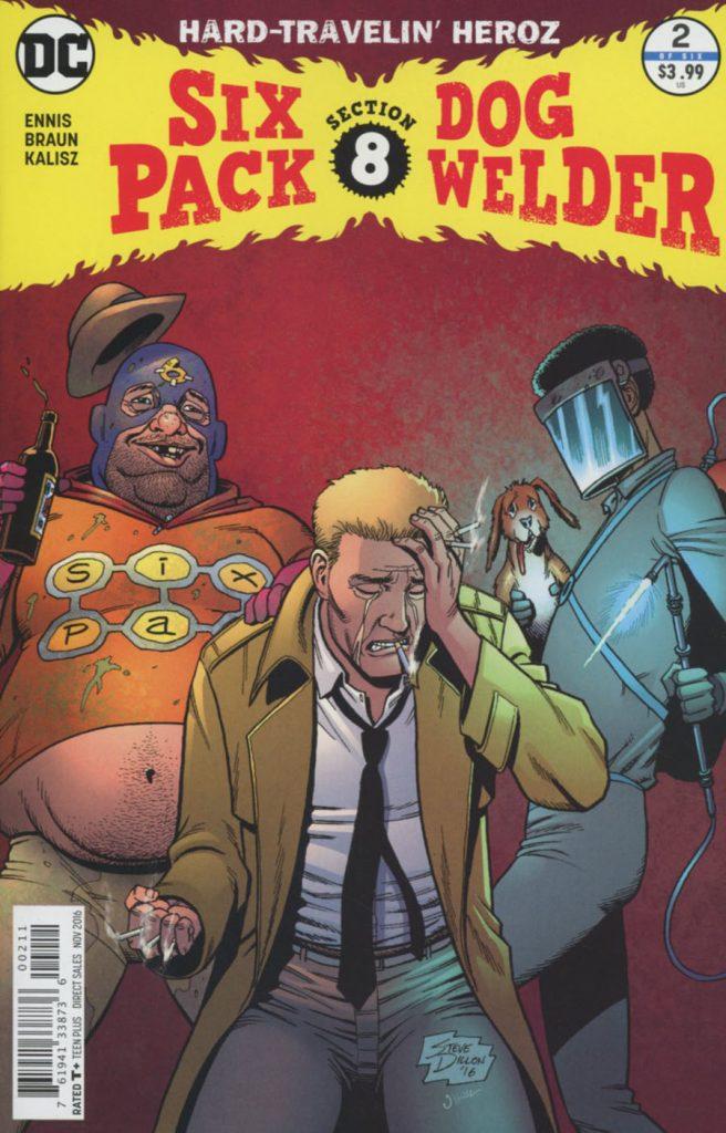 Sixpack And Dogwelder Hard-Traveling Heroz #2