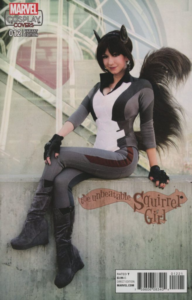 Unbeatable Squirrel Girl #12 Cosplay Variant