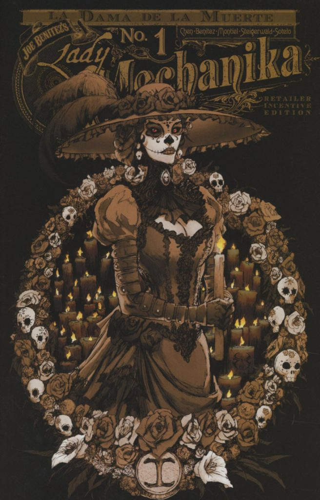 Lady Mechanika: La Dama de la Muerte #1 Incentive Variant