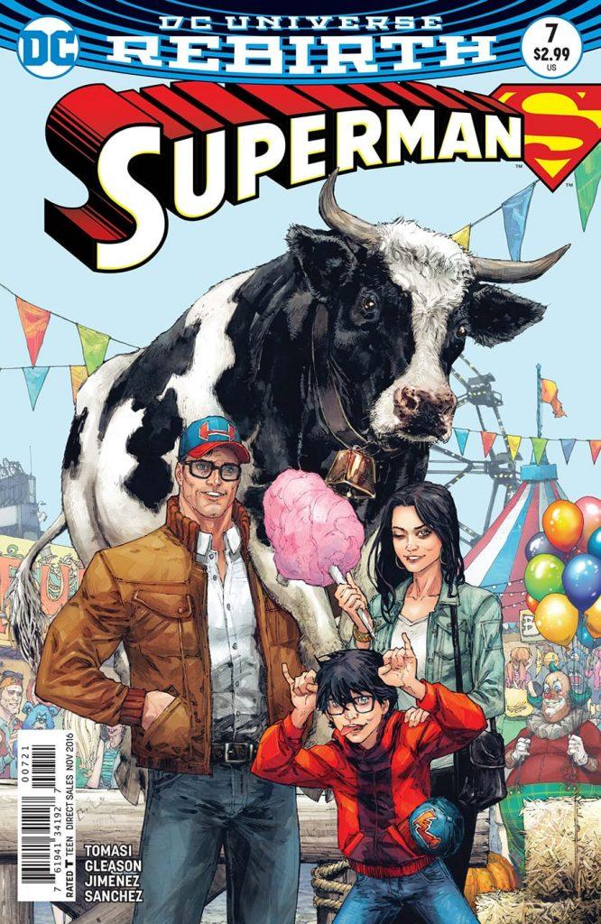 Superman #7 Kenneth Rocafort Variant