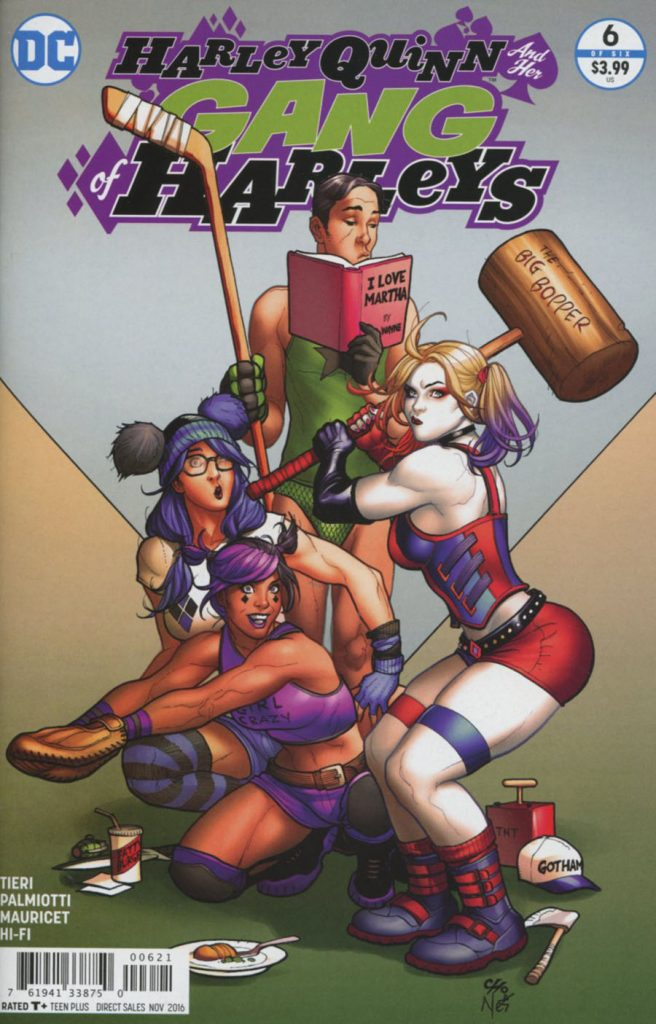 Harley Quinn And Her Gang Of Harleys #6 1:25 Frank Cho Variant