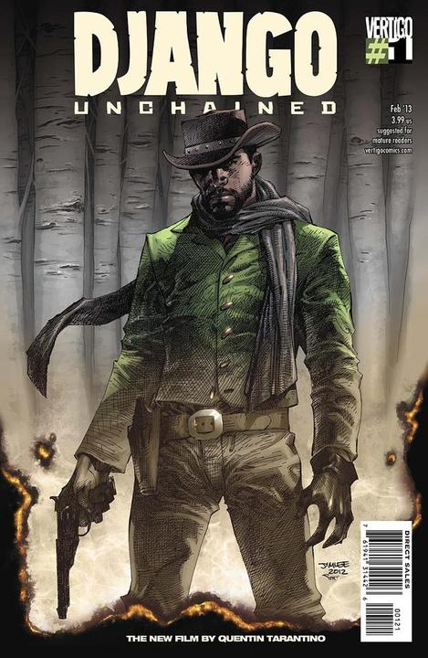 Django Unchained #1 Jim Lee Variant