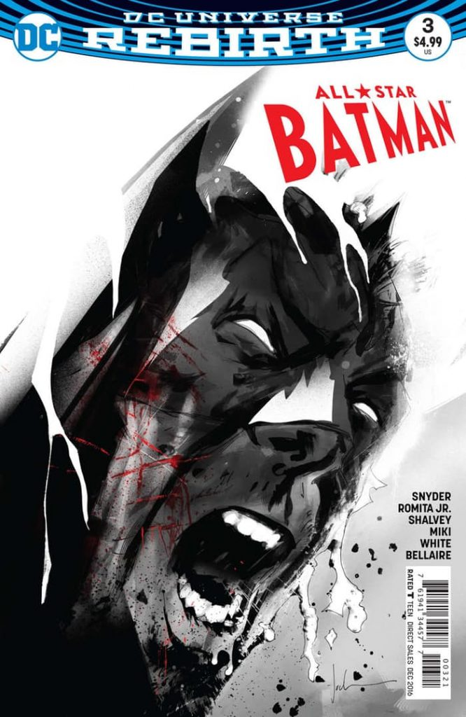 All Star Batman #3 Jock Variant