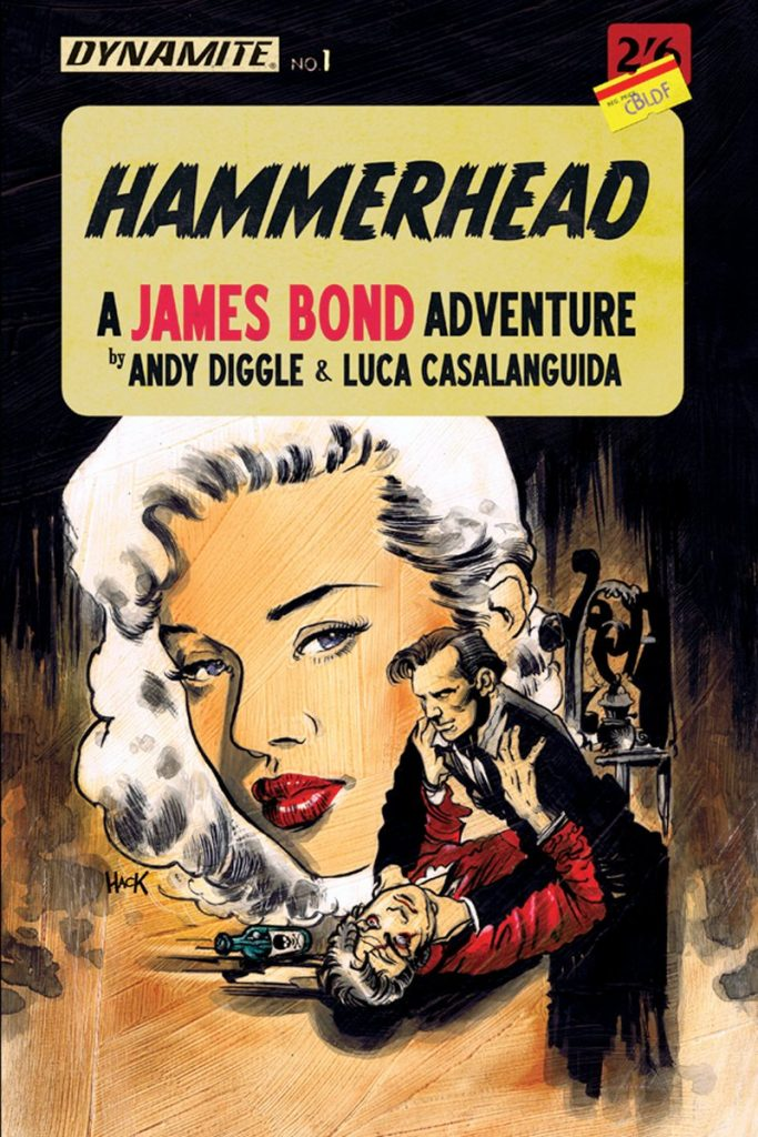James Bond: Hammerhead #1 Hack CBLDF Variant