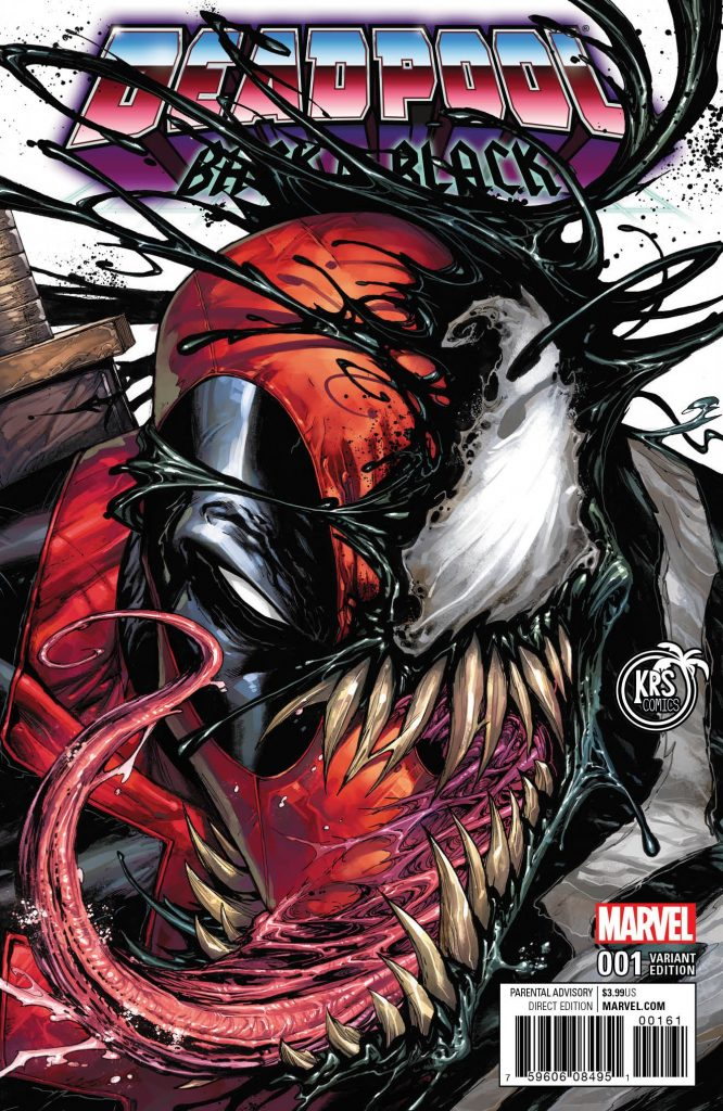 Deadpool: Back in Black #1 Tyler Kirkham KRS Exclusive