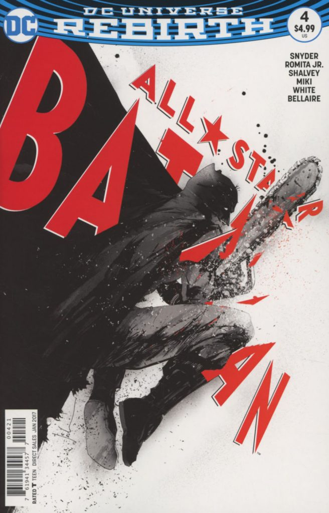 All-Star Batman #4 Jock Variant