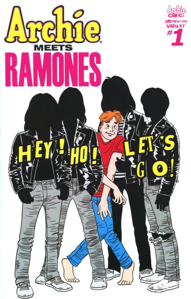 Archie Meets Ramones Jaime Hernandez 2nd Print Variant
