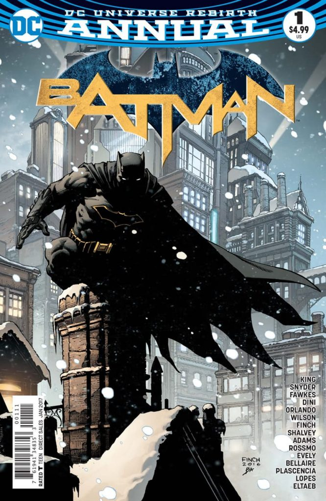 Batman Annual #1