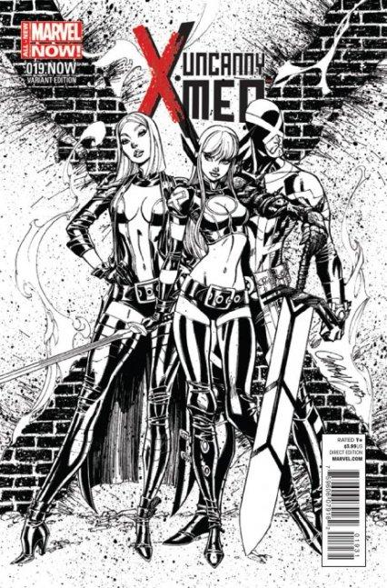 Uncanny X-Men Vol. 3 #19C 1:50