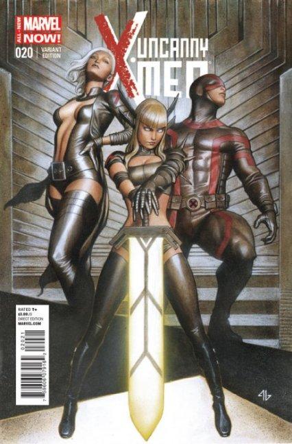 Uncanny X-Men Vol. 3 #20B Granov 1:50