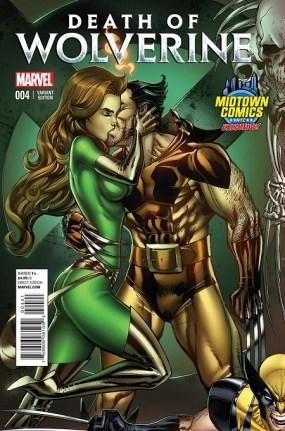 Death of Wolverine #4 Midtown Comics Exclusive
