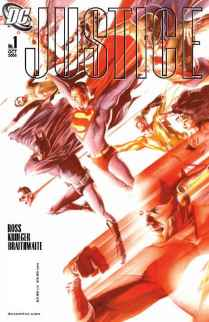 Justice #1 2nd Print
