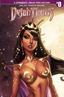 Dejah Thoris Vol 2 #0 Cover D Incentive J Scott Campbell Sneak Peek Variant