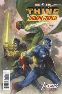 Marvel Two-In-One Vol 3 #2 Cover B Variant Gabriele Dell Otto Avengers