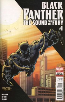 Black Panther The Sound And The Fury #1 Cover A Regular Andrea Di Vito Cover