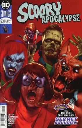 Scooby Apocalypse #23 Cover B Variant Ben Oliver Cover
