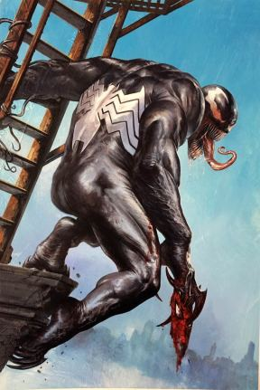 Venomized #1 Cover H Incentive Gabriele Dell Otto Ledge Variant Cover