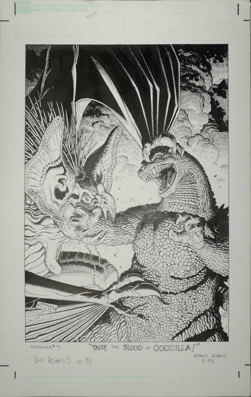 godzilla-king-of-the-monsters-4-1995-cover