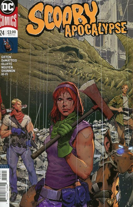 Scooby Apocalypse #24 Cover B Variant Trevor Hairsine Cover
