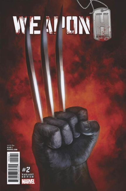 Weapon H #2 Cover C Incentive Skan Variant Cover