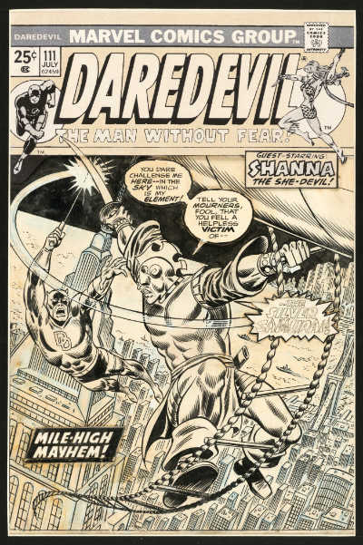 daredevil-111-1974-cover-by-ron-wilson-frank-giacoia