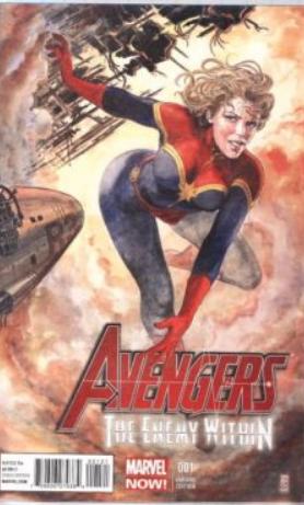 Avengers Enemy Within #1 1-50 Manara Variant