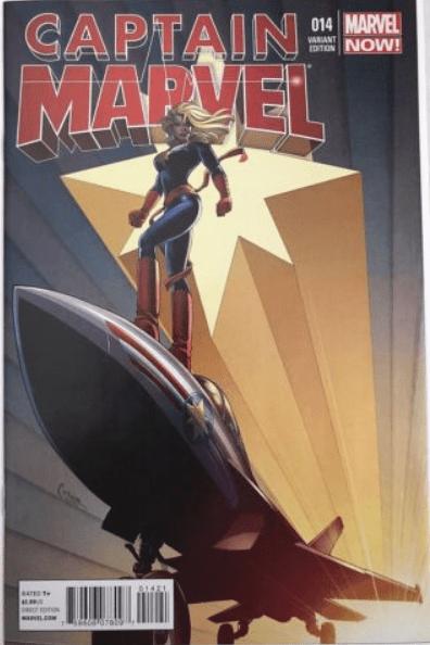 Captain Marvel #14 1-30 Conner Variant