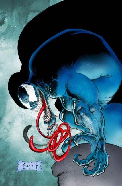 Venom Vol 4 #2 Cover C Incentive Sam Kieth Variant Cover