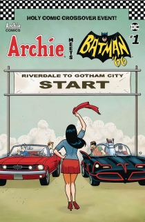 Archie Meets Batman 66 #1 Cover F Variant Ty Templeton Cover