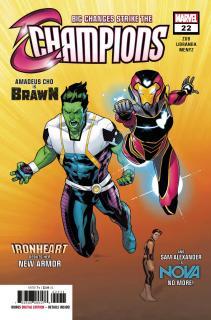 Champions (Marvel) Vol 2 #22