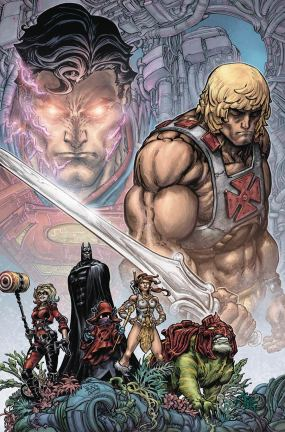 Injustice vs The Masters Of The Universe #1 Cover A Regular Freddie E Williams II Cover