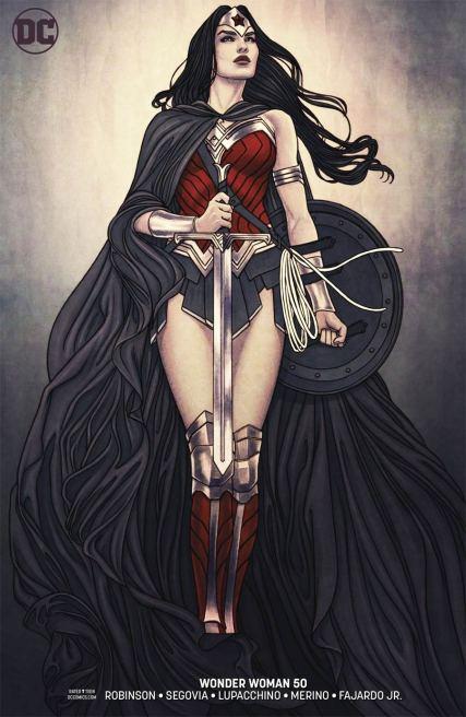 Wonder Woman Vol 5 #50 Cover B Variant Jenny Frison Cover