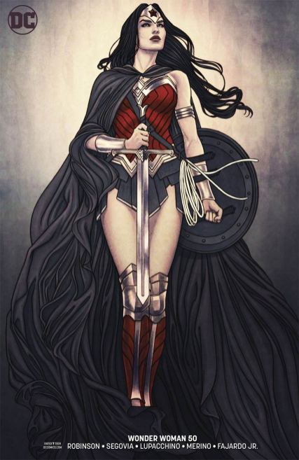 Wonder Woman Vol 5 #50 Cover B Variant Jenny Frison Cover