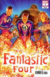 Fantastic Four Vol 6 #1 Cover V Incentive Alex Ross Variant Cover