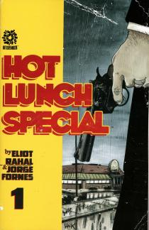 Hot Lunch Special #1 Cover B Variant Robert Hack Cover