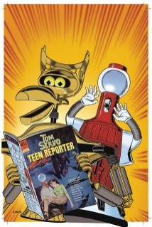 Mystery Science Theater 3000 #1 Cover B Variant Steve Vance Cover